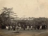 明治・大正期 中庭で遊ぶ子供たちの画像