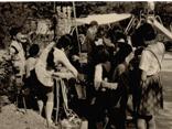 昭和期 はなまつりを楽しむ子ども達の画像