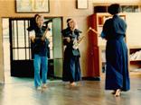 昭和期 剣道をする子ども達の様子