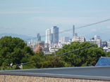 平成期 ケアハウス南山の郷から見渡した名古屋駅方面の様子